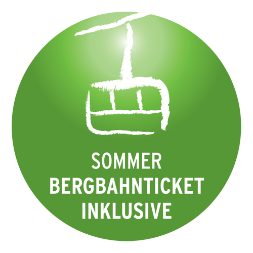 Sommer-Bergbahnticket inklusive